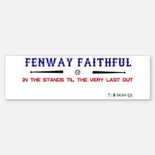 Fenway Faithful Bumper Bumper Sticker