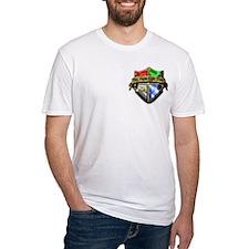 Unique Silver and blue blood Shirt