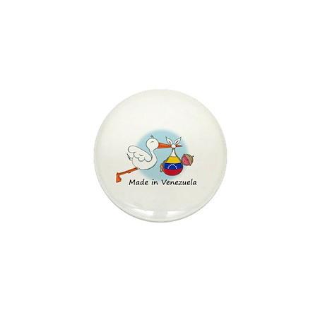 Stork Baby Venezuela Mini Button