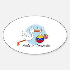 Stork Baby Venezuela Decal
