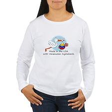 Stork Baby Venezuela USA T-Shirt