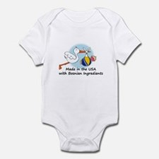 Stork Baby Bosnia USA Infant Bodysuit