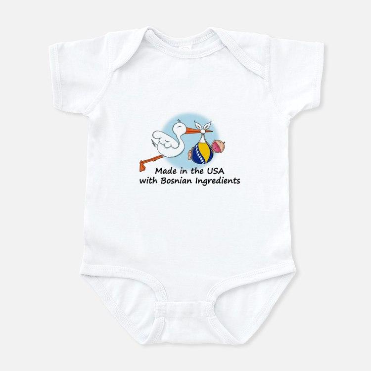 Stork Baby Bosnia USA Infant Bodysuit