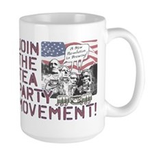 Tea Party Rushmore Mug