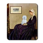 Whistlers Mom / Maltese (B) Mousepad