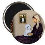 Whistlers Mom / Maltese (B) Magnet