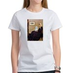 Whistlers Mom / Maltese (B) Women's T-Shirt