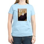 Whistlers Mom / Maltese (B) Women's Light T-Shirt