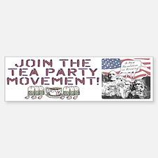 Tea Party Rushmore Bumper Bumper Sticker