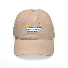 Fire Island NY - Surf Design Cap