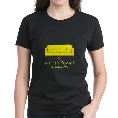 Wanna Burn One? Women's Dark T-Shirt