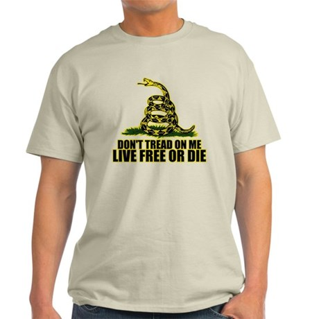 Live Free Or Die Light T-Shirt