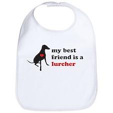 My best friend is a lurcher - Bib