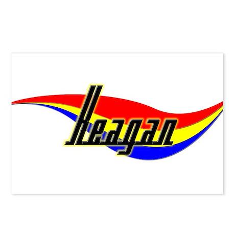 Keagan's Power Swirl Name Postcards (Package of 8)