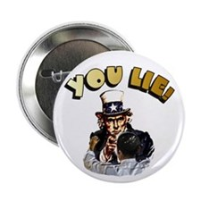 "Cute Obama lied 2.25"" Button"