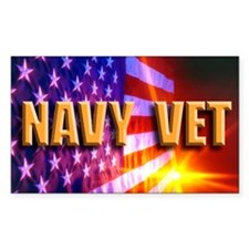 Navy Vet Decal
