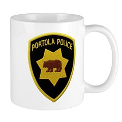 Portola Police Mug