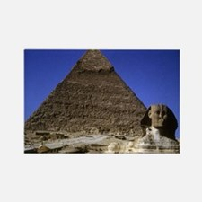 Sphinx & Pyramid Rectangle Magnet