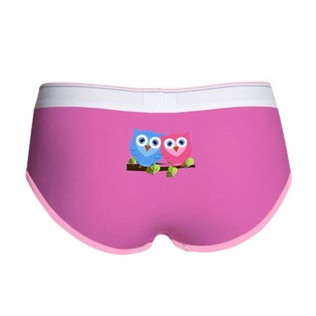 Owl Love Women's Boy Brief