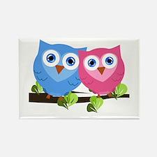 Owl Love Rectangle Magnet