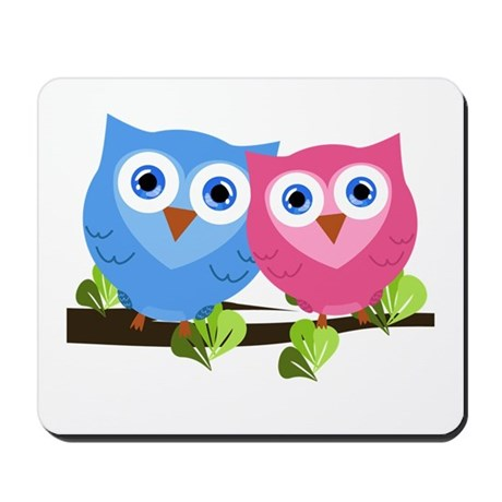 Owl Love Mousepad