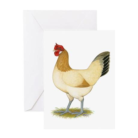 Penedesenca Hen Greeting Card