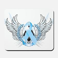 Awareness Tribal Light Blue Mousepad