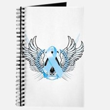 Awareness Tribal Light Blue Journal