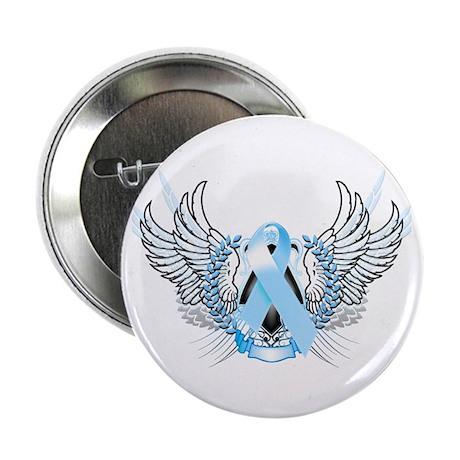 """Awareness Tribal Light Blue 2.25"""" Button"""
