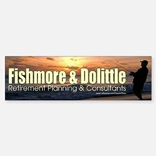 Fishmore & Dolittle Bumper Bumper Bumper Sticker