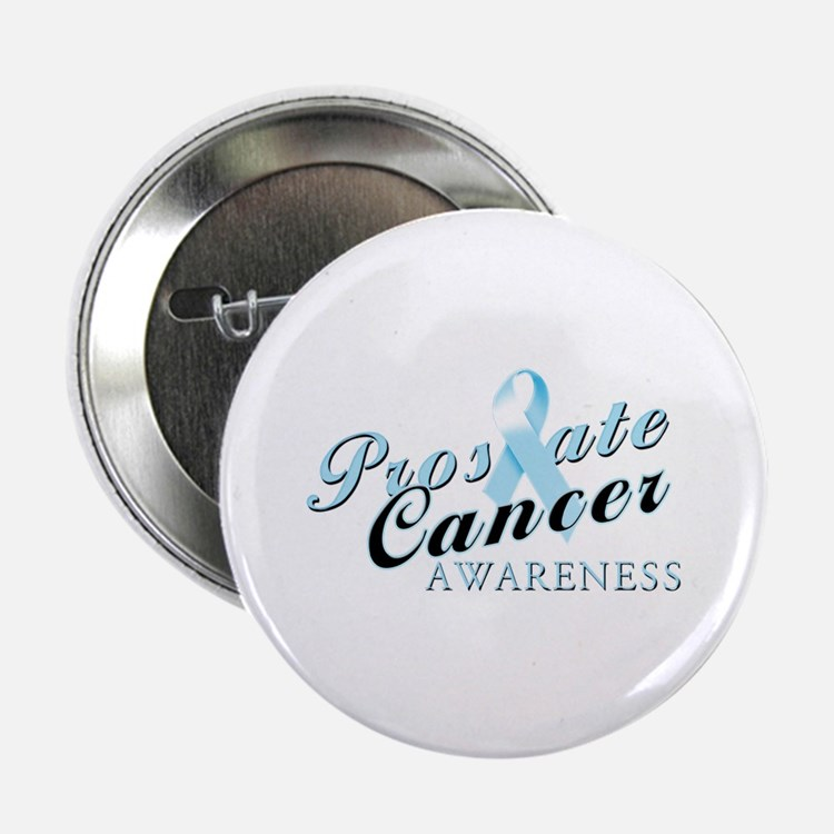 """Prostate Cancer Awareness 2.25"""" Button (10 pack)"""