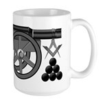 The Mason Re-enactor Large Mug