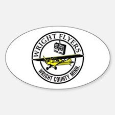 Wright Flyers R/C Club Oval Decal
