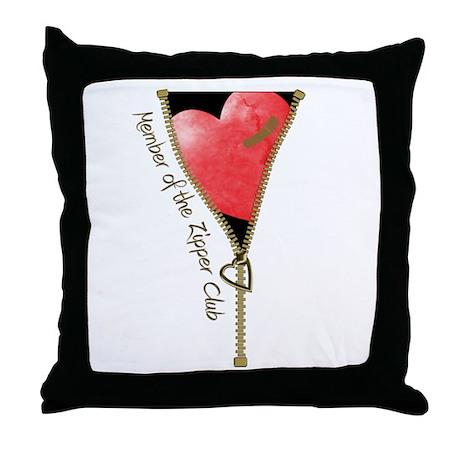 Throw Pillow Zipper : Zipper Design 2 Throw Pillow by gezipsupport