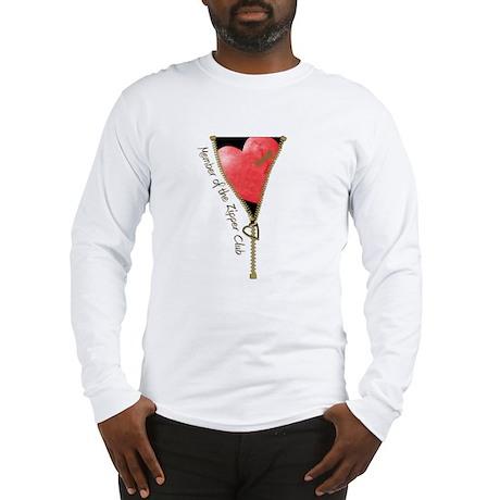 Zipper Design 2 Long Sleeve T-Shirt