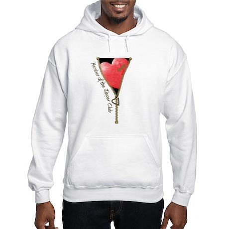 Zipper Design 2 Hooded Sweatshirt