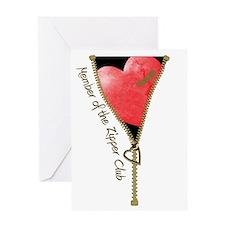 Zipper Design 2 Greeting Card