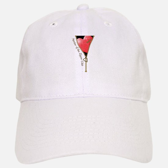 Zipper Design 2 Baseball Baseball Cap