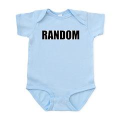RANDOM (Bold) Infant Creeper