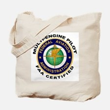 FAA Certified Multi-Engine Pilot Tote Bag