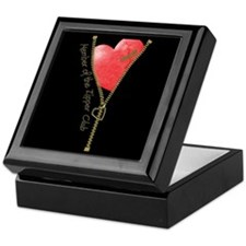 Zipper Design 2 Keepsake Box