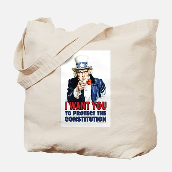to Protect the Constitution Tote Bag