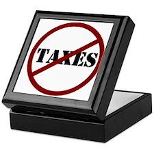 Cute Taxes Keepsake Box