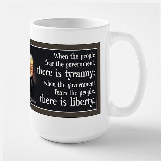 Jefferson: Liberty vs. Tyranny Large Mug