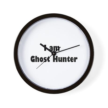 Ghost Hunting Wall Clock