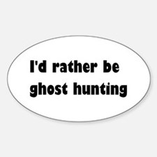 Ghost Hunting Decal