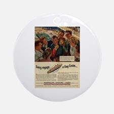 Gay Cruise Ornament (Round)