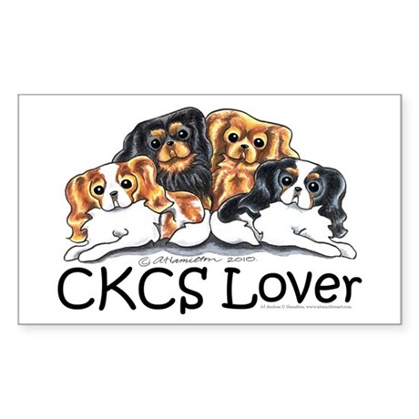 CKCS Lover Sticker (Rectangle)
