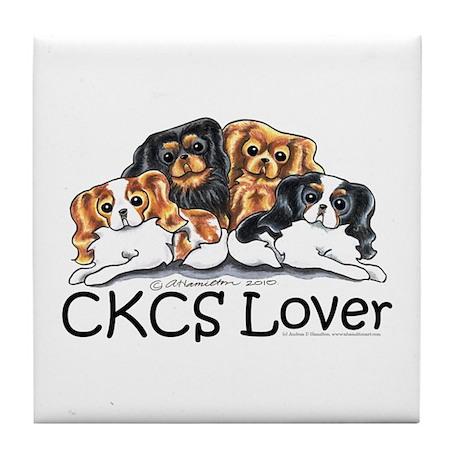CKCS Lover Tile Coaster