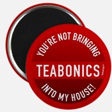 """Teabonics - Not in My House 2.25"""" Magnet (10 pack)"""